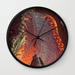 Active Volcano in Guatemala Wall Clock