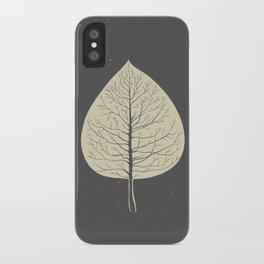 Tree-leaf iPhone Case