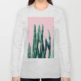 Green Cactus 14 Long Sleeve T-shirt