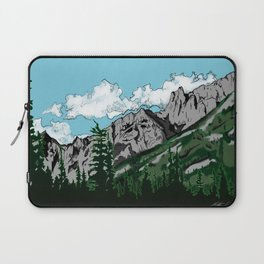 Aged Mountains  Laptop Sleeve