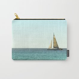 Sail Away with Me - Ocean, Sea, Blue Sky and Summer Sun Carry-All Pouch