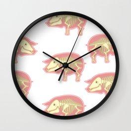 Piggy Pig Wall Clock