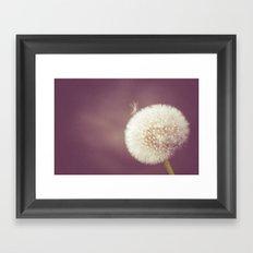 Blow you away Framed Art Print