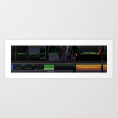 deep space sequencing Art Print