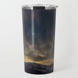 Meteor Over The Bridgers Travel Mug