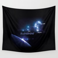 Lion - sign of the zodiac Wall Tapestry