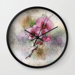 tiny, perfect beauty Wall Clock