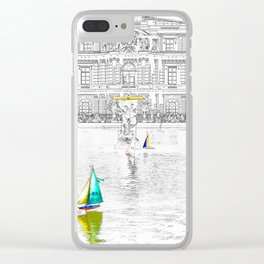 Luxembourg Gardens - Paris Clear iPhone Case