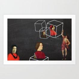 #86 Inter Art Print