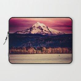 Mt Hood on Columbia River Laptop Sleeve
