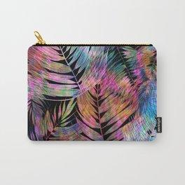 Waikiki Tropic {Black} Carry-All Pouch