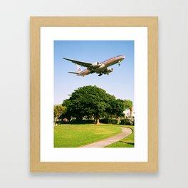 AA 777-200 Framed Art Print