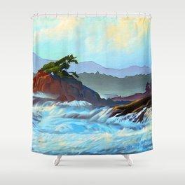 Wild West Coast Shower Curtain