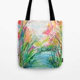 Spring on the Waterway No. 2 Tote Bag