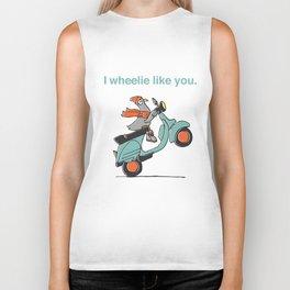 I Wheelie Like You Biker Tank