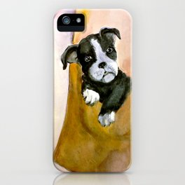 Lucille's Pup in a Pocket* iPhone Case