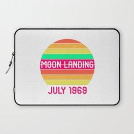 Moon Landing Retro 1969 Space 50th Anniversary Laptop Sleeve