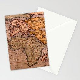 Typus Orbis Terrarum Old World Map Stationery Cards