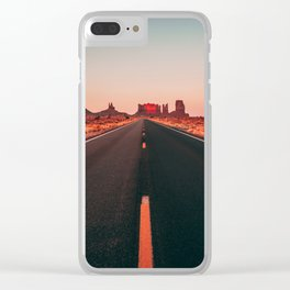 Lost highway Clear iPhone Case
