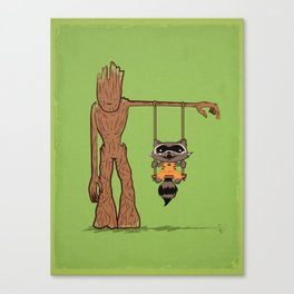 Come Swing With Me Canvas Print