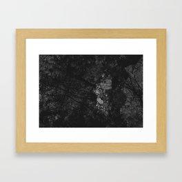 Luxury Black Marble Framed Art Print