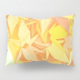 Senbazuru | shades of yellow Pillow Sham