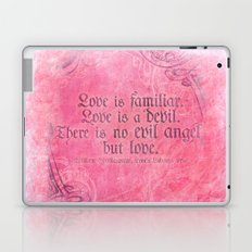 Cupid Kills - Shakespeare Love Quote - Much Ado Laptop & iPad Skin