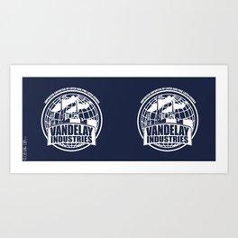 Vandelay Industries # 2- Blue Art Print