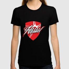 Red star shield T-shirt