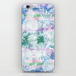 Garden in white iPhone Skin