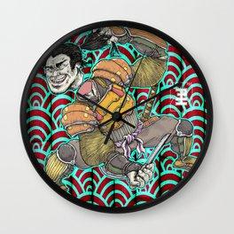 Nitta Yoshisada Wall Clock