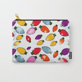 Christmas Bulb Popart by Nico Bielow Carry-All Pouch