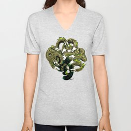 Lonely Hydra Unisex V-Neck