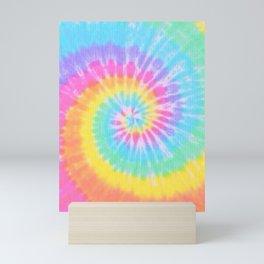 Rainbow Tie Dye Mini Art Print