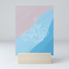 future roommates Mini Art Print
