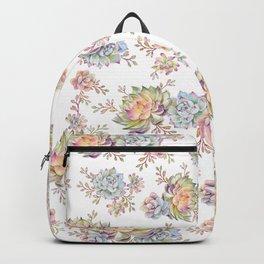 succulent watercolor 5 Backpack