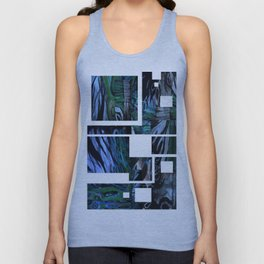 The Abstraction of Utopia and Oblivion  Unisex Tank Top