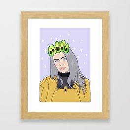 billie avocado Framed Art Print