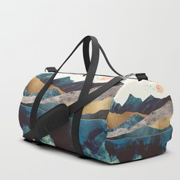 Blue Mountain Reflection Duffle Bag