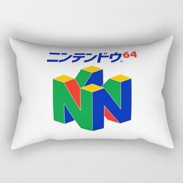 Japanese Nintendo 64 Pullover Rectangular Pillow