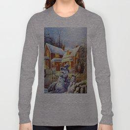 Father & Son Snowman Long Sleeve T-shirt