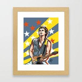 Springsteen, Bruce Framed Art Print