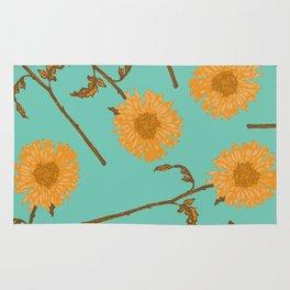 Sunshine Tossed Floral Rug
