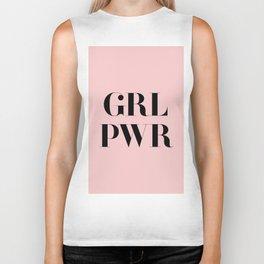 Girl Power - GRL PWR Biker Tank