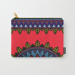 dp058-3 Ethnic mandala Carry-All Pouch