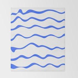 Mariniere marinière – new variations I Throw Blanket