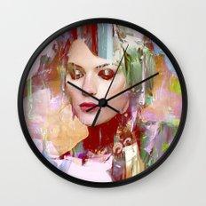 Vengeance of a betrayed woman Wall Clock