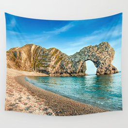 Durdle Doors Elephant Trunk Wall Tapestry