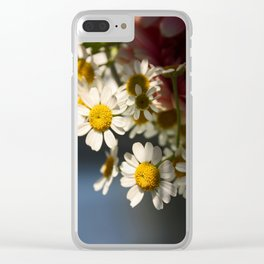he loves me, he loves me not Clear iPhone Case