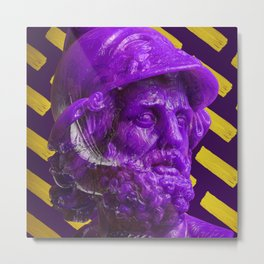 Candy dude (purple) Metal Print